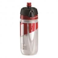 Bidon hidratare ELITE Jossanova 550 ml transparent roşu