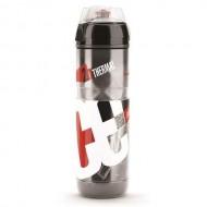 Bidon hidratare ELITE Iceberg Thermal 650 ml roşu/alb/negru