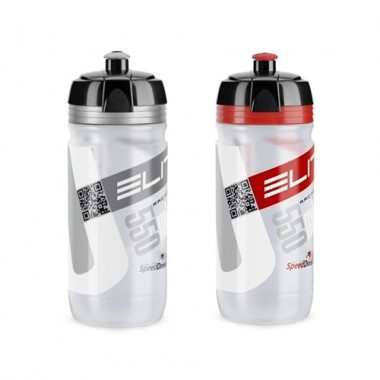Bidon hidratare ELITE Corsa Transparent 550 ml