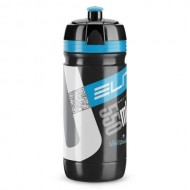 Bidon hidratare ELITE Corsa Negru 550 ml Logo albastru