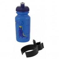 Bidon hidratare FORCE Zoo 300 ml albastru