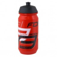 Bidon hidratare FORCE Savior 500 ml roşu/alb/negru