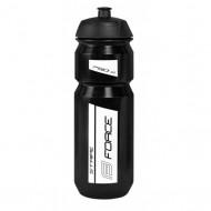 Bidon hidratare FORCE Stripe 750 ml negru/alb