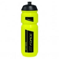 Bidon hidratare FORCE Stripe 750 ml fluorescent/negru