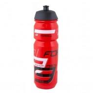 Bidon hidratare FORCE Savior 750 ml negru/roşu/alb