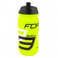 Bidon hidratare FORCE Savior 500 ml fluo/negru/alb
