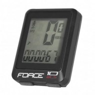 Bike computer FORCE WLS 10F negru - wireless