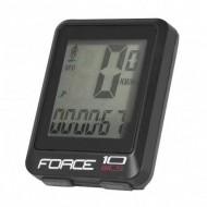 Bike computer FORCE WLS 10F negru - wireless