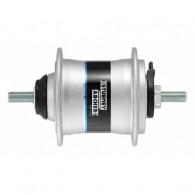 Butuc față cu dinam STURMEY ARCHER HDS12 - 36H argintiu