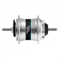 Butuc față cu dinam STURMEY ARCHER HDS20/22 - 36H argintiu