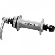 Butuc față SHIMANO Alivio HB-M435 QR(133mm) 32H argintiu