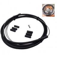 Cablu + cămașă schimbător spate + capete protecție
