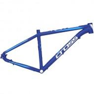 """Cadru CROSS Grip aluminiu 27.5"""" albastru/alb 48 cm"""