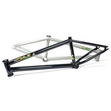 """Cadru BMX WTP The Irish 20.9"""" TT negru"""