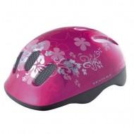 Cască copii VENTURA flower-pink