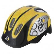 Cască TOUR DE FRANCE galben/negru S