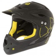 "Cască protecție MIGHTY Downhill Full Face ""Fall Out"" negru/galben M"