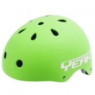 Cască protecție YEAH! BMX/Freestyle verde L