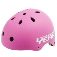 Cască protecție YEAH! BMX/Freestyle roz L