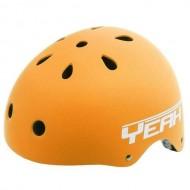 Cască protecție YEAH! BMX/Freestyle portocaliu L