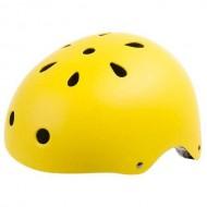 Cască protecție YEAH! BMX/Freestyle Smiley galben