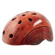 Cască protecție YEAH! BMX/Freestyle Wood maro
