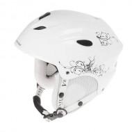 Cască protecție VENTURA Sky/Snowboard alb