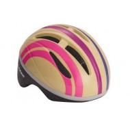 Cască protecție Lazer Bob Baby Pink Stripes