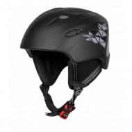 Cască protecție FORCE Ski negru/gri marime L-XL