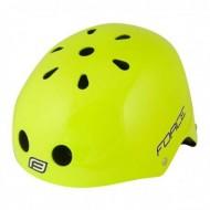 Cască protecție FORCE BMX fluorescent