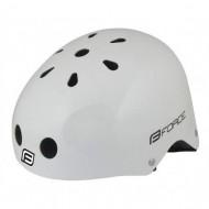 Cască protecție FORCE BMX alb
