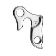 Ureche schimbător spate - 660853 argintiu