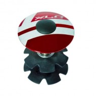 Capac furcă XLC 28.6 mm - a-head Plug roşu