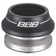 """Cuvete furcă BBB 1 1/8"""" 41.8 mm negru - integrate"""