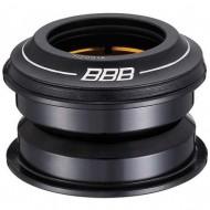 """Cuvete furcă BBB 1 1/8"""" 44 mm negru - semi-integrate"""