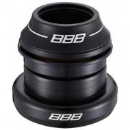 """Cuvete furcă BBB 1 1/8""""-1.5"""" 44 mm negru - semi-integrate tapered"""