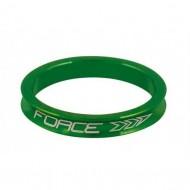 "Distanțier furcă FORCE 2 1.1/8"" 5mm - a-head verde"