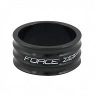 """Distanțier furcă FORCE 2 1.1/8"""" 15mm - a-head negru"""