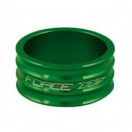 "Distanțier furcă FORCE 2 1.1/8"" 15mm - a-head verde"
