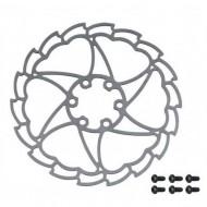 Disc frână FORCE Light Star 6 bolt 160 mm