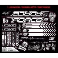 Autocolante cadru Force 37x27 cm negru cu alb