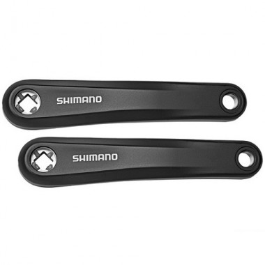 Brațe angrenaj SHIMANO E-Bike Steps FC-E6010 pătrat 175mm gri