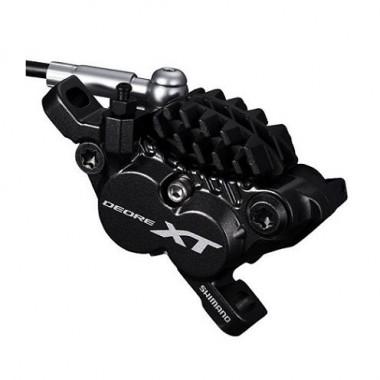 Etrier hidraulic SHIMANO Deore XT BR-M8020 plăcuţe metalice cu radiator