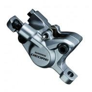 Etrier hidraulic SHIMANO Deore BR-T615 argintiu