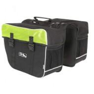 Geantă portbagaj 2 piese M-WAVE 30 litri Verde