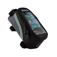 Borsetă cadru STAND Roswhell Smartphone negru/verde