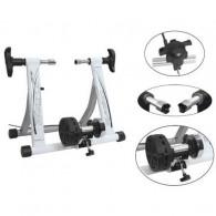 Home trainer magnetic FORCE Basic Fe - alb