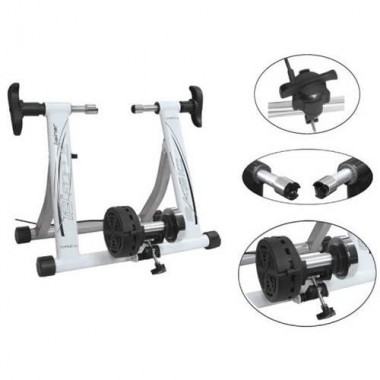 Home trainer magnetic FORCE Basic Fe - alb