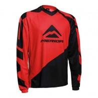 Bluză ciclism MERIDA Freeride Enduro F196 roşu/negru mărime L