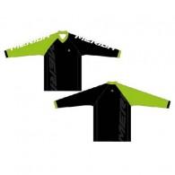 Bluză ciclism MERIDA Freeride Enduro verde/alb/negru mărime S